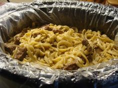 Kristi's Recipe Box: Crockpot Beef and Noodles