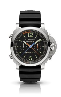 Luminor 1950 Regatta 3 Days Chrono Flyback Automatic Titanio PAM00526 - Collection 3 Days Chrono Flyback - Watches Officine Panerai
