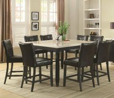 wildon home r brownville  piece dining set counter height dining : piece dining set counter height