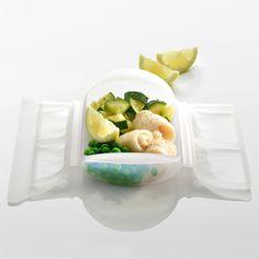 Pescado con verduras al limón