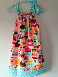 Tutorial: cómo hacer un vestido de verano para niña sin necesidad de patrón. Es muy fácil y puedes hacer tantos modelos como quieras.