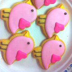 Baby chick cookies from a baby shower!!