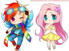 My Little Pony HUMANAS CHIBIS