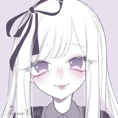 Pretty Art, Cute Art, Pastel Goth Art, Picture Icon, Anime Profile, Cute Chibi, Kawaii Art, Aesthetic Anime, Best Artist