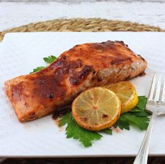 Grilled Steak Salad, Salmon Fillets, Baked Salmon, Sweet And Spicy, Recipe Of The Day, Chipotle, Food Pictures, Seafood Recipes, Recipes