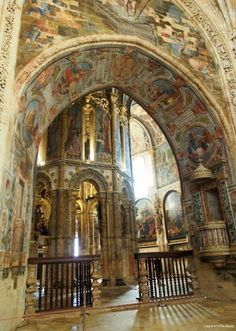 Convento D Cristo - The Order Of Templar. Tomar Portugal      http://www.vagrantsoftheworld.com/tomar-and-the-knights-templar/