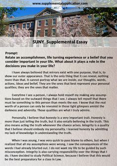pin by donaldross on supplementalapplication  information on the suny supplemental essay and basic writing guideline suggestions to help applicants complete the supplemental essay