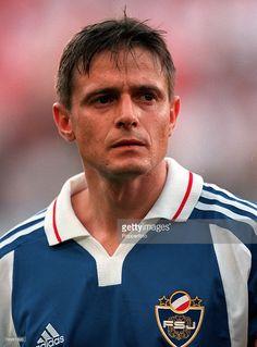 Football, European Championships (EURO 2000), Sclessin Stadium, Liege, Belgium, Yugoslavia 1 v Norway 0, 18th June, 2000, A portrait of Yugoslavia captain Dragan Stojkovic