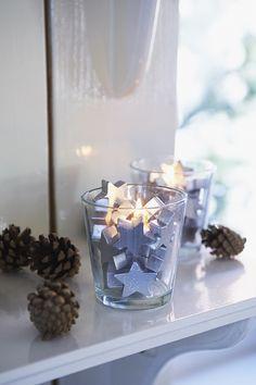€7,95 Christmas Silver Stars Votive #living #interior #rivieramaison #decoration #christmas