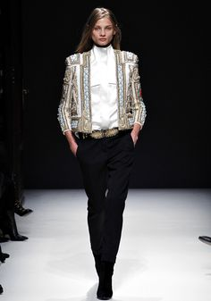Balmain Fall 2012 - Balmain - Collections - Vogue  oh Lord please grant me this jacket..