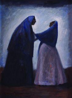 Dos mujeres by Carlos Orozco Romero