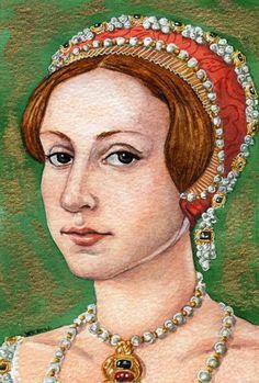 The lady Elizabeth, the future Elizabeth I Wives Of Henry Viii, Lady Elizabeth, Wars Of The Roses, Tudor History, Anglo Saxon, Portrait Art, Love Art, Fashion Art, Art Gallery