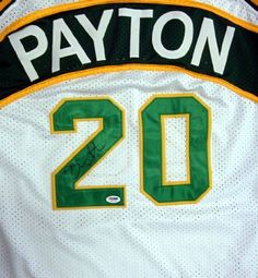 Gary Payton Autographed White Seattle Sonics Jersey PSA/DNA . $199.00. This is a White Seattle Sonics jersey that has been hand signed by Gary Payton. It has been authenticated by PSA/DNA and comes with their sticker and matching certificate of authenticity.
