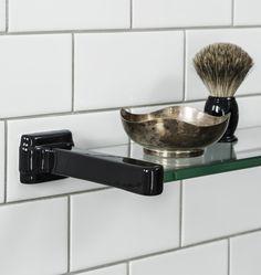 Streamline Porcelain Bath Shelf | Rejuvenation