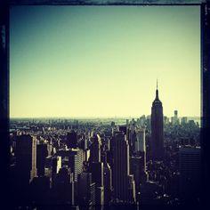 New York City from the Rockefeller Center
