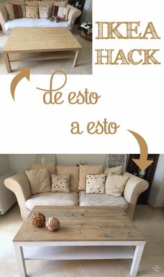 Ikea Lack coffee table hack with some wood and dye - Home Decor -DIY - IKEA- Before After Coffee Table Hacks, Ikea Lack Coffee Table, Coffee Table Makeover, Lack Table Hack, Ikea Table Hack, Coffee Tables, Coffee Table Upcycle, Coffee Chairs, Coffee Coffee