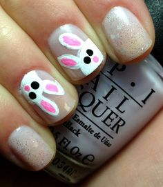 Nails by an OPI Addict: Care to Danse?...With Bunnies!