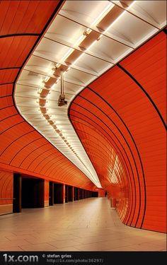 architecture, orange, future building, futuristic architecture, futuristic building, futuristic interiof, futuristic design, design,