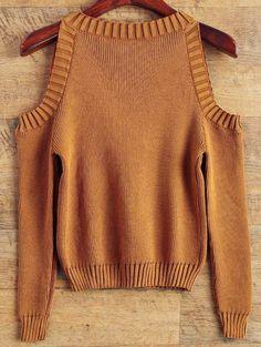 Oversized Cold Shoulder Sweater