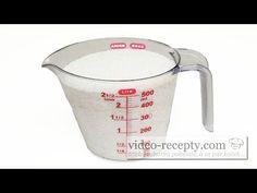 Vanisch na skvrny a špínu za pár korun - videorecept - YouTube Liquid Measuring Cup, Measuring Cups, Home Made Soap, Spin, Cleaning, Homemade, Zero Waste, Youtube, Home Made