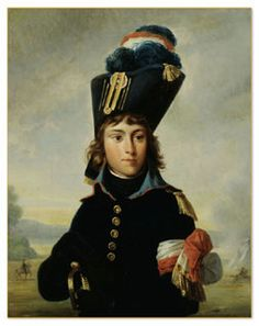 Hortense's beloved (and wonderful) brother Eugène. She helped paint this portrait of him, before he went to war.