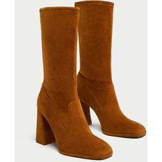 CORDUROY HIGH HEEL ANKLE BOOTS - Ankle Boots-SHOES-WOMAN   ZARA United... (€5,95) ❤ liked on Polyvore featuring shoes, boots, ankle booties, high heel boots, ankle bootie boots, high heel ankle boots, high heel ankle booties and ankle boots