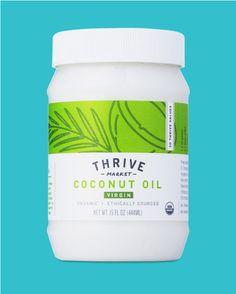 Thrive Market: Coconut Oil design