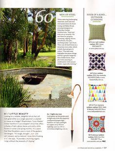 House and Garden – April, 2015 Kolsan Cushion – Page 137