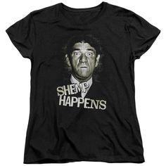Three Stooges - Shemp Happens Short Sleeve Women's Tee
