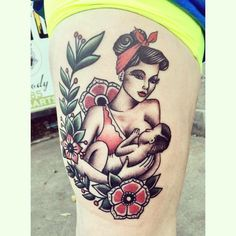 Pin up breastfeeding tat