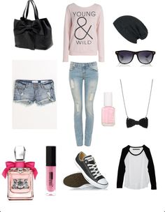 My first polyvore outfit! :)