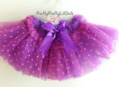 Tutu Purple Tutu Girls Tutu Baby Tutu by PrettyPrettyLilGirls, $19.99