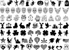Halloween, Day of the Dead, Christmas, Easter, St. Patrick's Day, 4th of July…