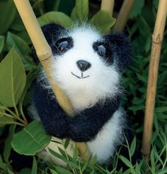 Adorable Fuzzy Panda: free crochet pattern
