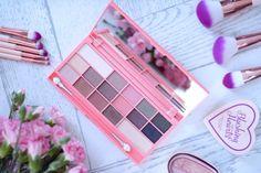 I Heart Makeup Chocolate & Peaches - Review & Swatches | Ela Lis Make-Up