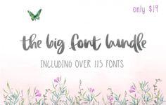 The Big Font Bundle s 99% zľavou!   https://detepe.sk/the-big-font-bundle-99-zlavou