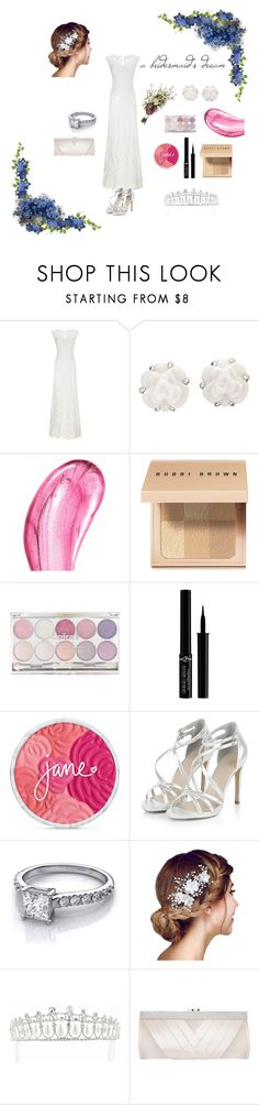 """a bridesmaid's dream"" by squishfashion ❤ liked on Polyvore featuring Phase Eight, Chanel, Chantecaille, Bobbi Brown Cosmetics, Giorgio Armani, Kate Marie and GCGme"