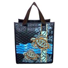 "Honu Large Insulated Tote Bag 20"""" X 14"""""