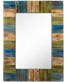 24x32, $115. Concepts in Time Patchwork Mirror