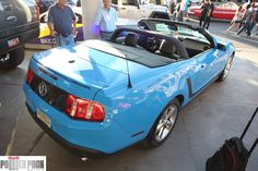 Ford #Mustang convertible at #SEMA 2011