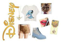 """""""Disney is Life"""" by paisleypuppy ❤ liked on Polyvore featuring Disney, Timberland, Fiebiger, women's clothing, women, female, woman, misses and juniors"""