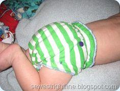 Cloth diaper covers.