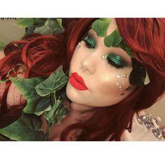 poison ivy poisonivy halloween cosplay halloweenmakeup glam makeup batman