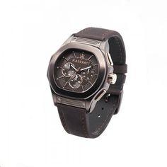 MASERATI- Fuoriclasse watch, brown.