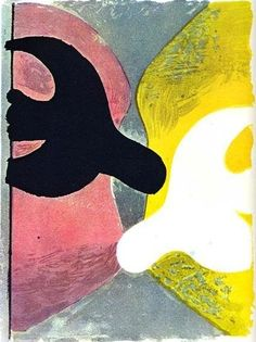 Resurrection of the Bird, by Georges Braque (France), 1959.