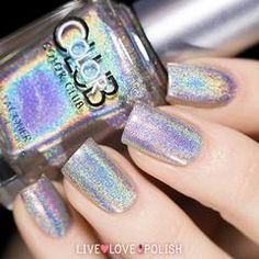 Swatch of Color Club Harp On It Nail Polish (Halo Hues Collection)