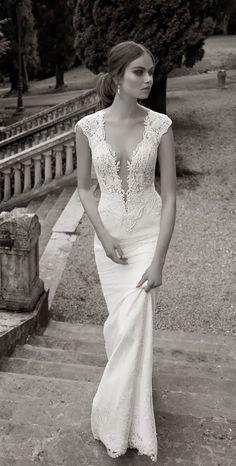 Figure-hugging Berta Bridal wedding dress | The Wedding Scoop Spotlight: Sexy Wedding Dresses