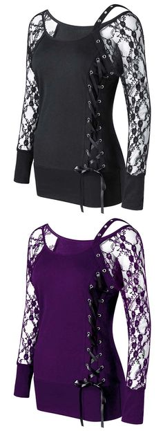 SPIRAL DIRECT SHADOW RAVEN Lace Shift Elegant Top Raven//Rock//Ladies//Goth//Lace