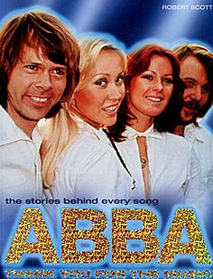 "Book cover of ""Abba : Thank you for the music""."
