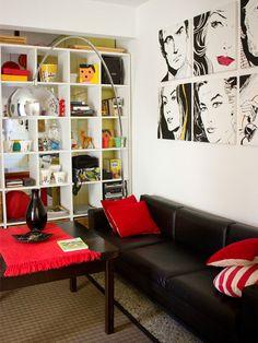 Interiores 103 El Productor Pop Art Decorhome Design Living Roomliving